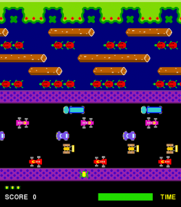 Learn to code Frogger in Python